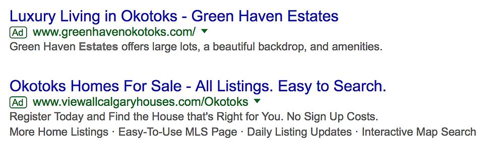 google ads okotoks