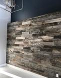 Natural Grey Feature Wall