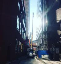 Vertical Crane - Mobile Crane Services
