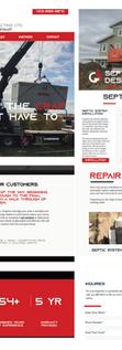 Grayline Contracting  Website Design