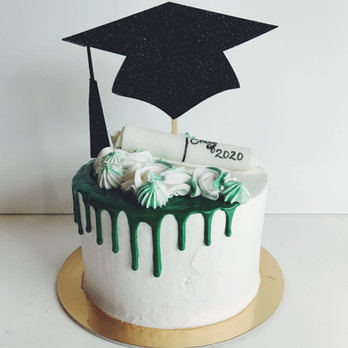 Custom Graduation Cakes | Ginger and Spice