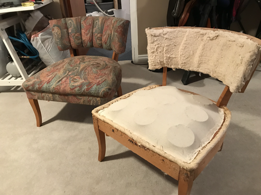 Curved Back Chairs (2)