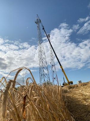 Vertical Crane and Rigging