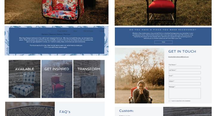 Blue Dog Fabrics