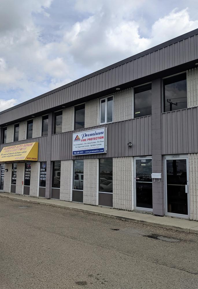 Premium Fire Protection Edmonton Office