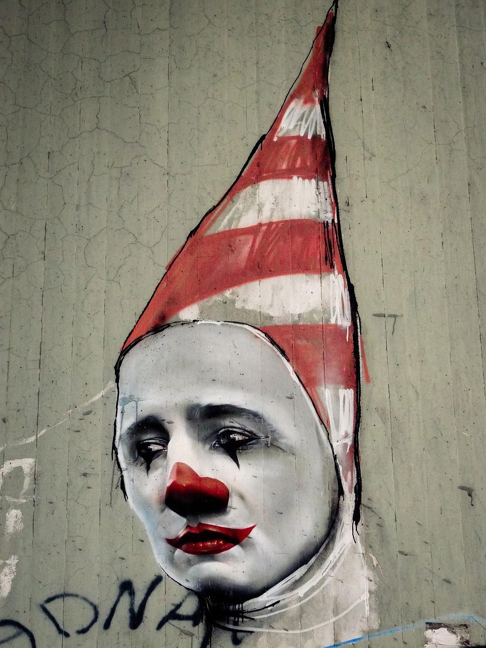social media clown
