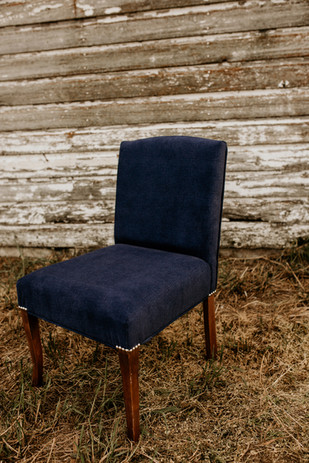 Furniture recovering and fabric replacement