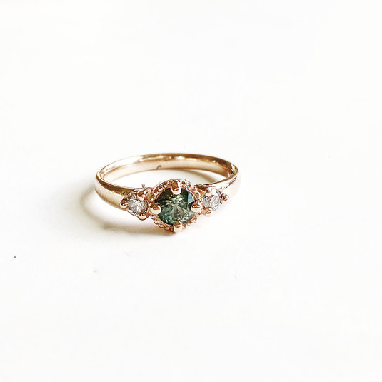 Custom Ring with Stone