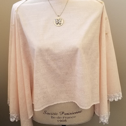 Soft Lace Pink with Lace Wrap