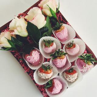Strawberries  | Ginger and Spice Cakery | Okotoks