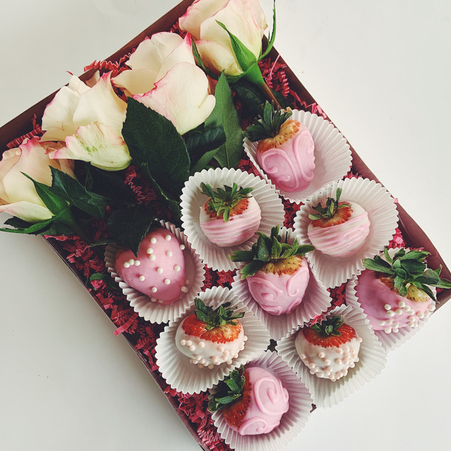 Strawberries  | Ginger and Spice Cakery | Okotoks