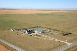 Aerial Pic of Room To Run Kennel