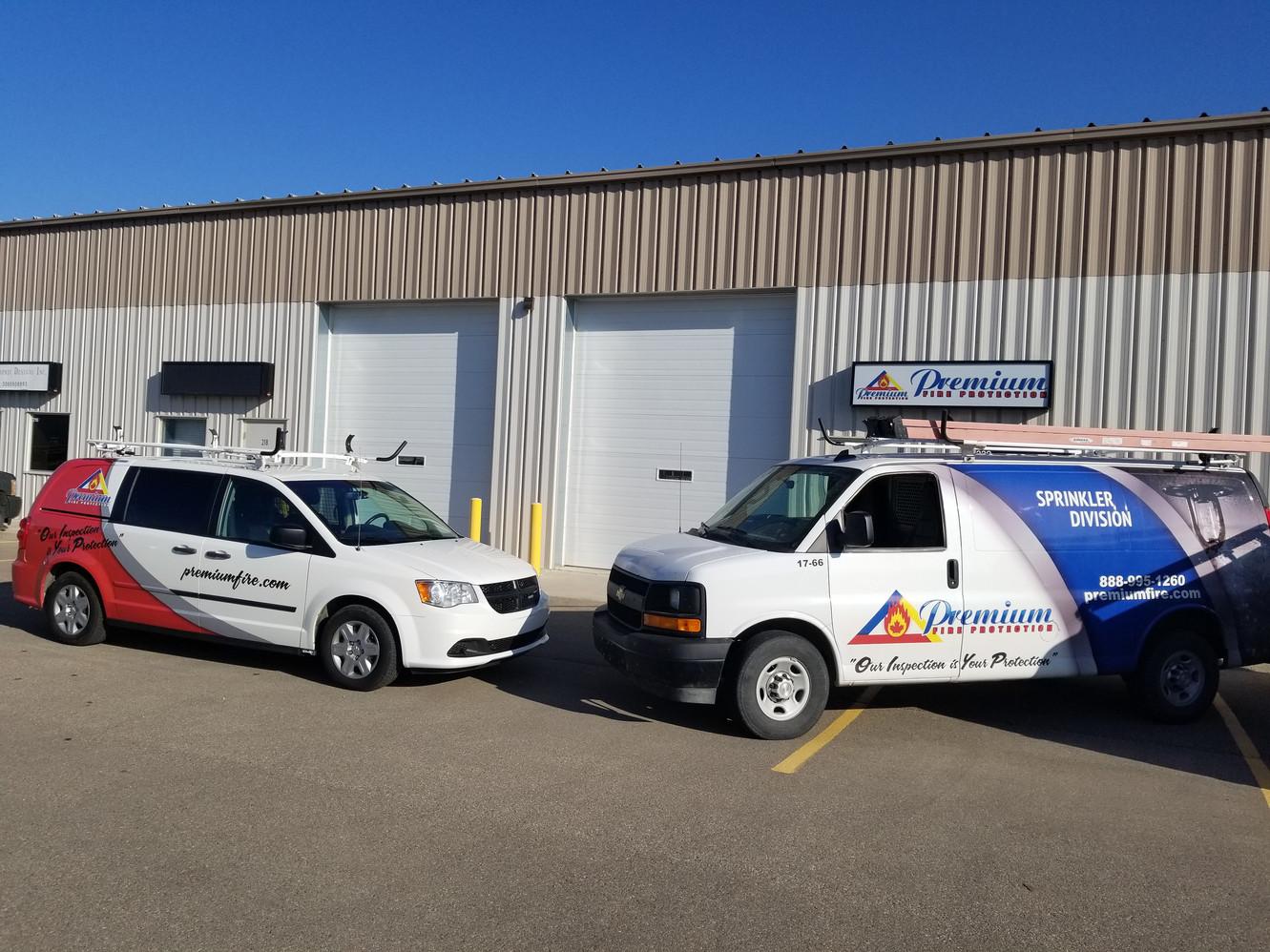 Premium Fire Saskatoon Office