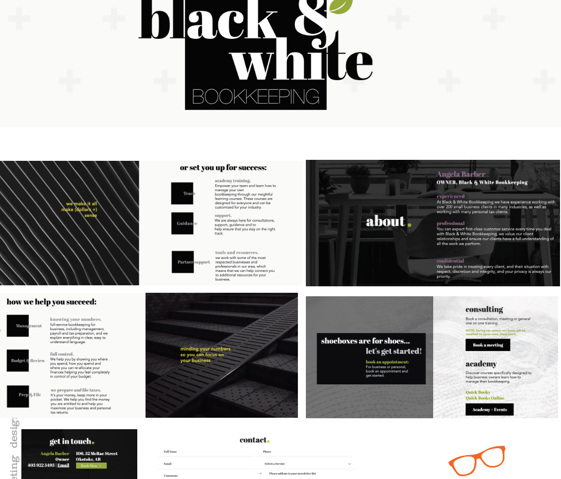 Black & White Bookkeeping