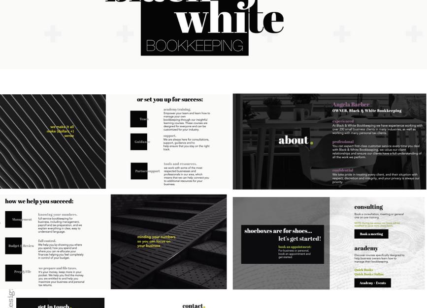 Black & White Bookkeeping