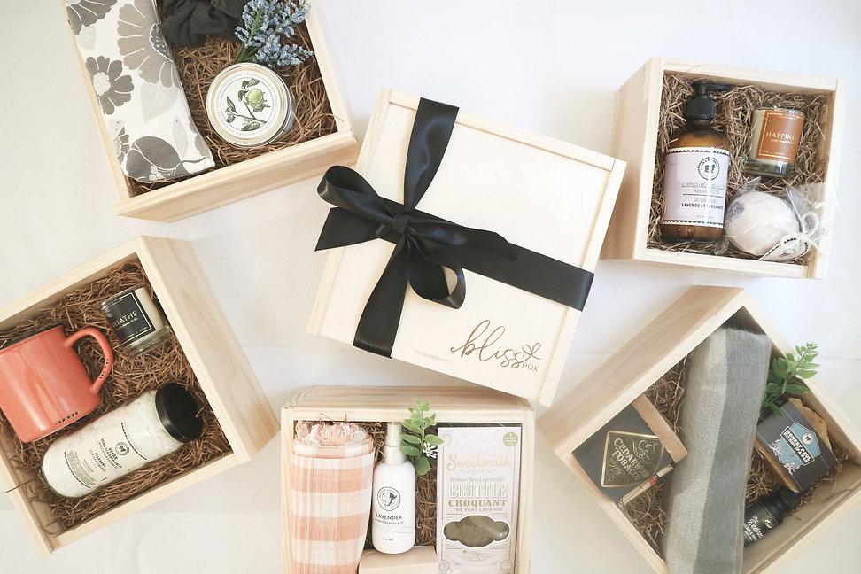 Bliss Box - gift baskets in Calgary, Alberta