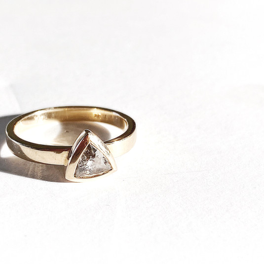 Custom Triangle Ring