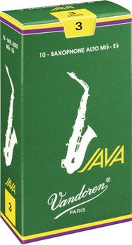 Alto Sax Vandoren JAVA Reeds (10 Pack)