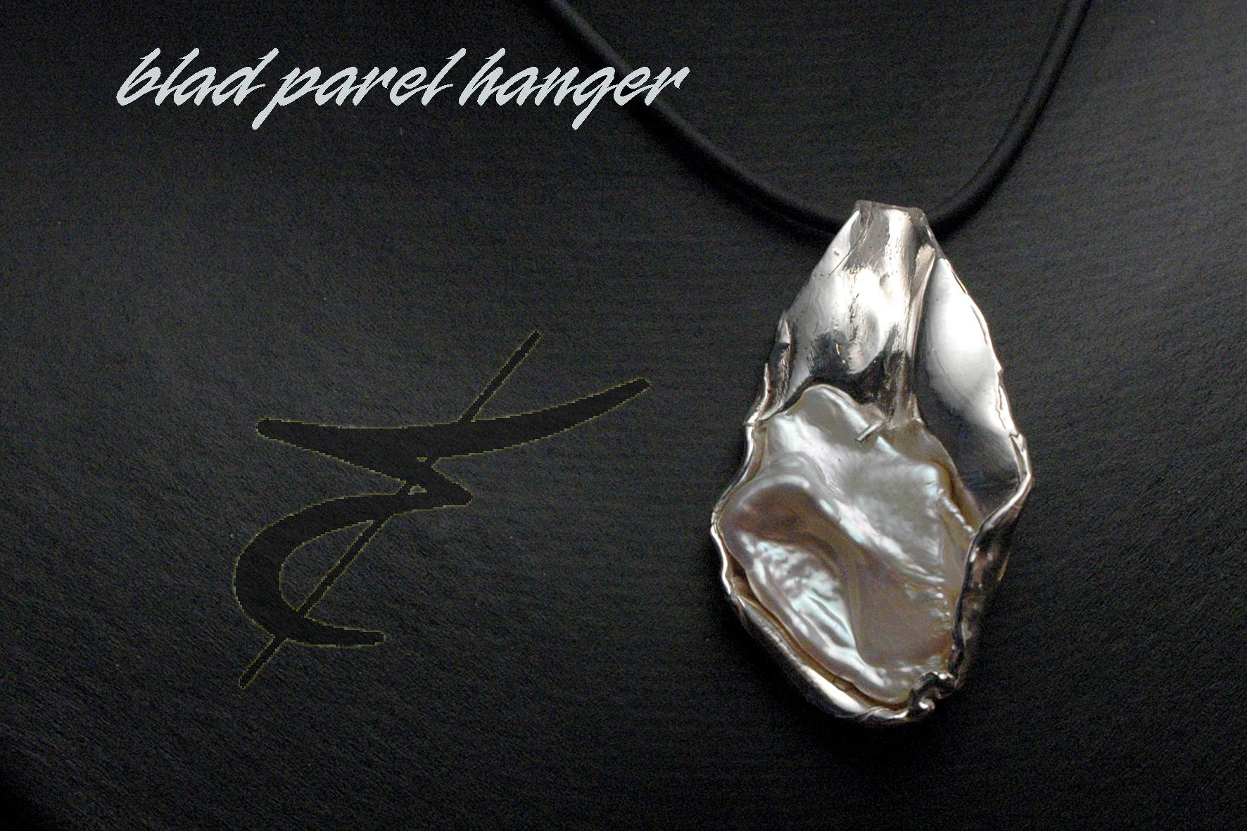 925 gietwerk VR 03 hanger parel blad