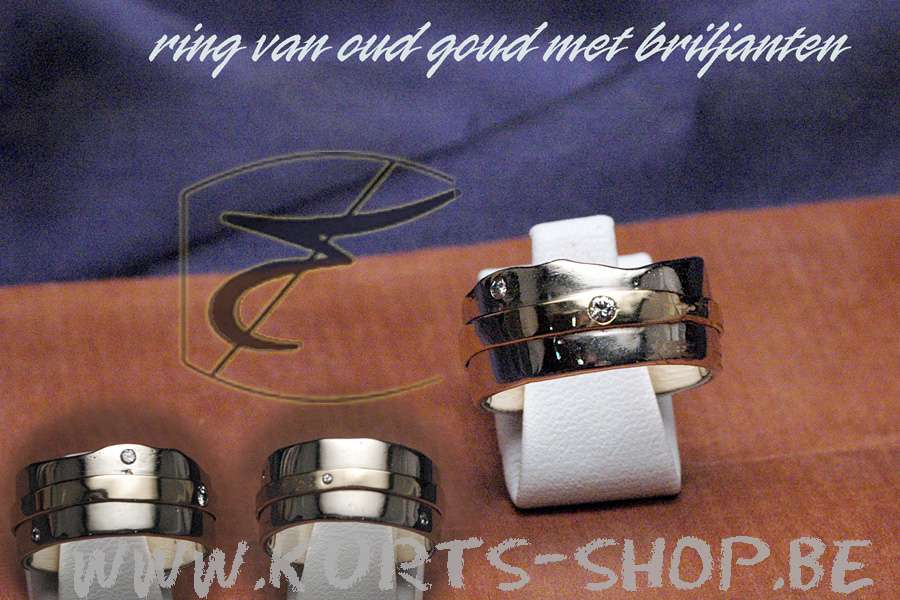 750 oud goud - ring monique