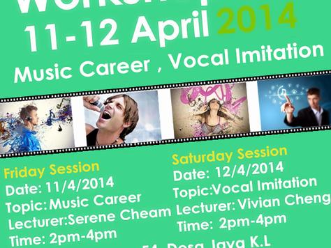Music Career & Vocal Imitation Workshop