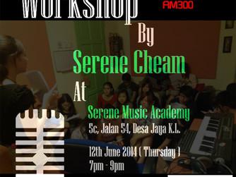 《录音室歌唱》Workshop