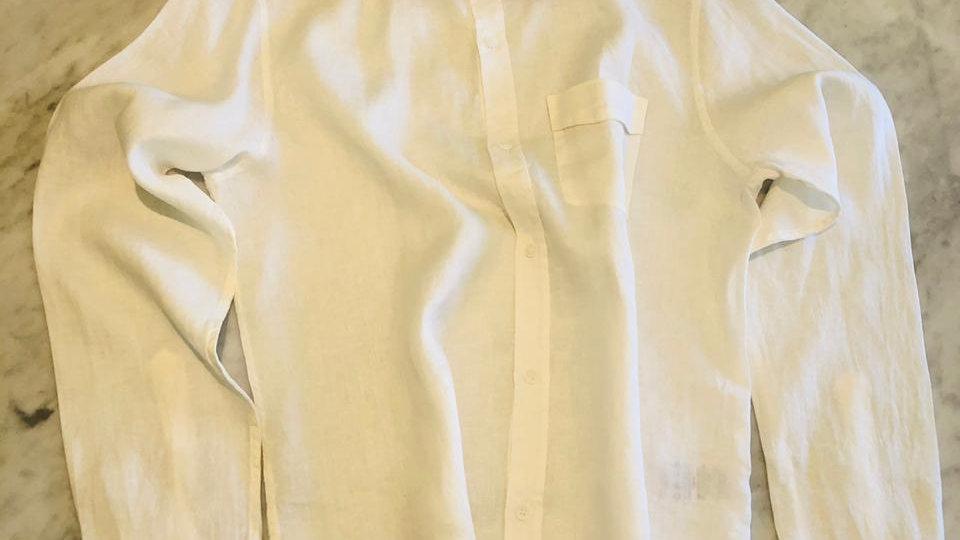 Camisa Linho Master Belgium