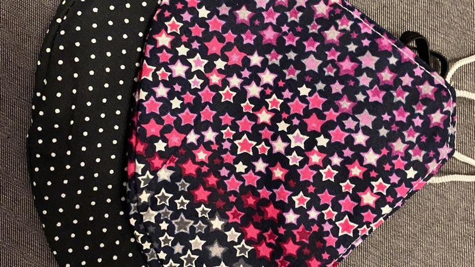 2 Máscaras Estrelas