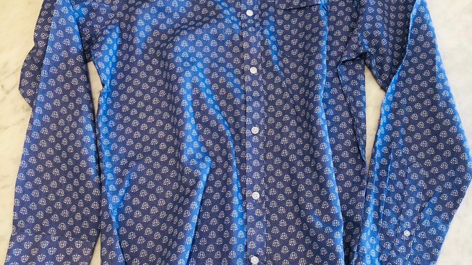 Camisa Linho Full Print