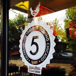 Chicken Works 5-year Anniversary