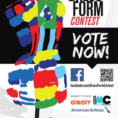 Dress Form Contest Poster