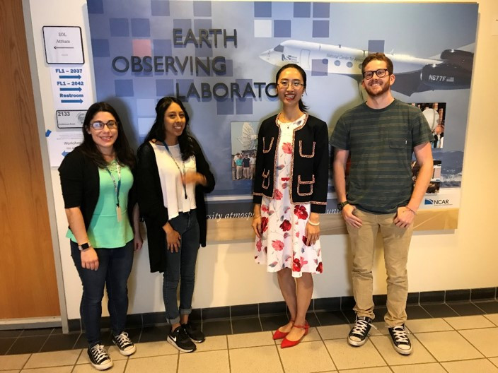 My group's summer visit at NCAR Earth Observing Laboratory