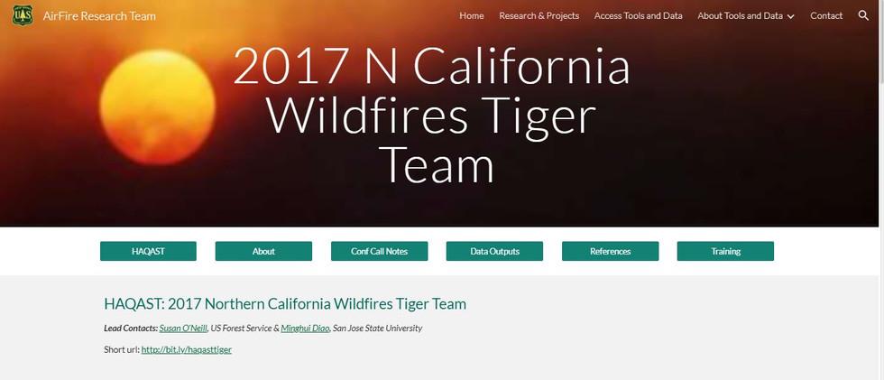 HAQAST_Wildfire Tiger Team website.JPG