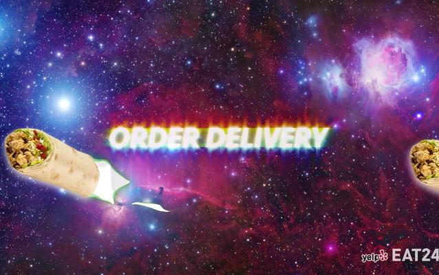 Yelp Eat24 Space Burritos