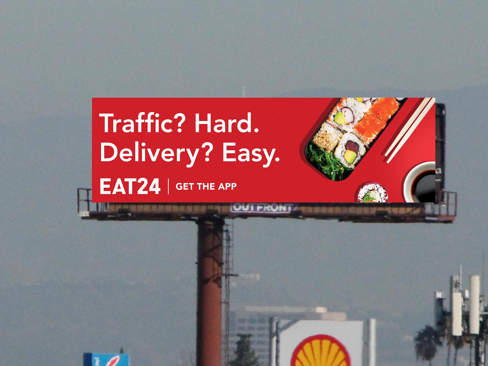Eat24 Billboard