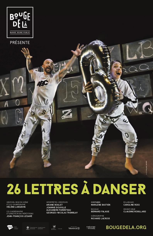 26 LETTRES À DANSER