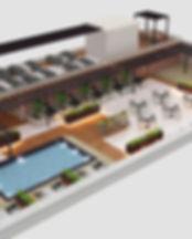 Roof Top Restaurant design by Guru Inter