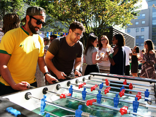 Houzzers Score Big With a World Cup Event