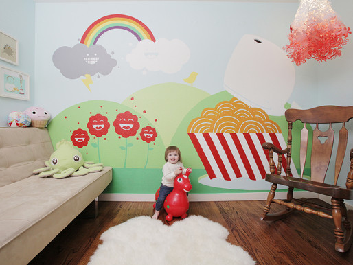 Parents Draw on Nature Themes to Infuse Creativity in Kids' Room Design
