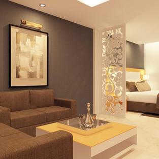 Hotel Project by Guru Interior & Decorat