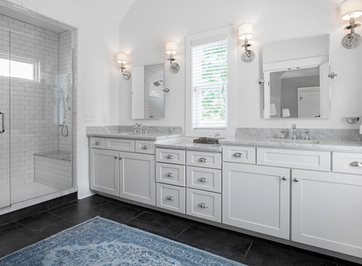 A Style Makeover for Master Bathrooms
