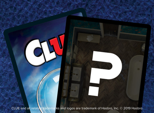 Houzz Photo Inspires New Room in the CLUE Mansion