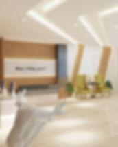 Hotel Recption Design by Guru Interior &