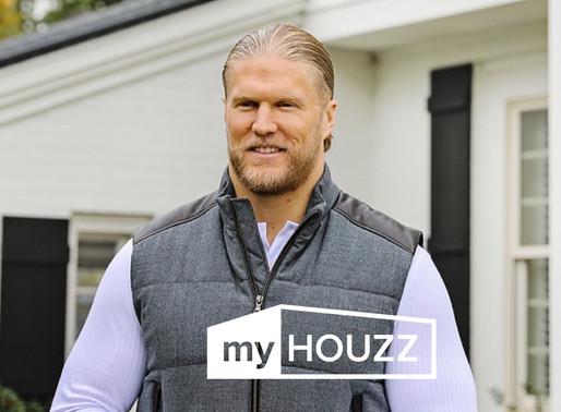 "Watch the Latest ""My Houzz"" Episode Featuring Clay Matthews"