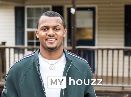 "Watch the 2019 Premiere of ""My Houzz,"" Starring NFL Quarterback Deshaun Watson"