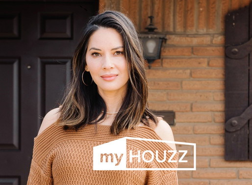 """A Mother's Day Surprise: Watch Olivia Munn's Surprise Renovation on the Latest """"My Houzz"""""""