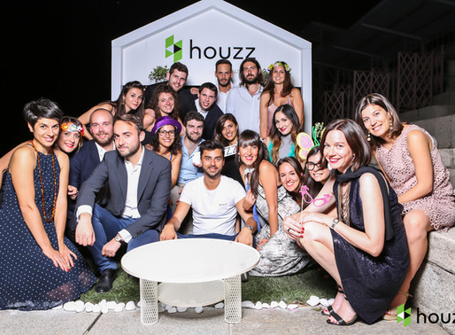 Houzz Italy Celebrates its Second Anniversary