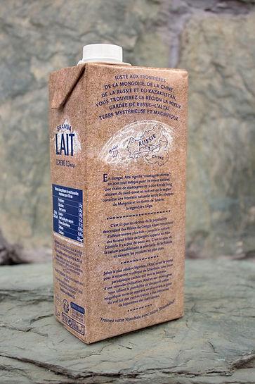 ShambaLait milk creative packaging design by ZBS BRANDS.