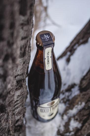 Бутылка с логотипом Автограф Вкуса от ЗБС БРЭНДС.