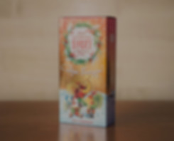 Altayski Buket balm new year packaging design
